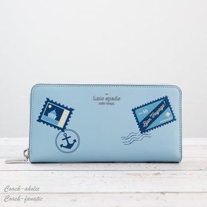 NWT Kate Spade Off The Grid Continental Wallet